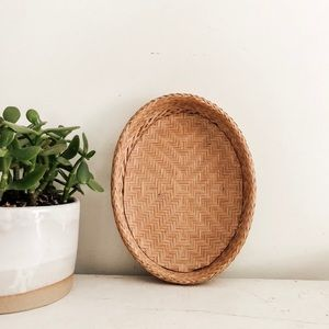 Vintage wall basket
